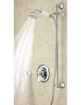 Beaumont Sequential Thermostatic Shower Valve With Slide Rail Kit