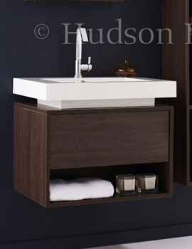 Related Hudson Reed Recess Wall Hung Basin And Cabinet - RF032