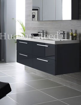 Related Hudson Reed Quartet Wall Hung Basin And Cabinet - RF036