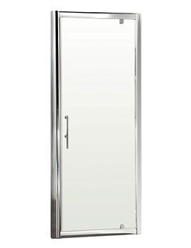 Pacific Pivot Shower Door 800 x 1850mm - AQPD80