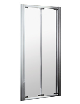 Lauren Ella Shower Enclosure Door 900mm - Bi-Fold ERBD90