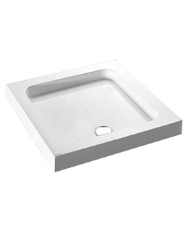 Balterley Cast Stone Square Shower Tray 800 x 800mm - BYST8