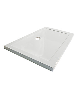 Hydrastone Low Profile Shower Tray 1400 x 800mm - NTP033