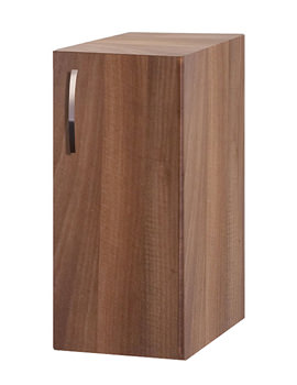 Balterley Compact Walnut 300mm Base Cabinet - BYFWN3CB