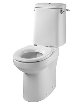 Twyford Avalon Rimless Close Coupled WC Pan 520mm - AV1968WH