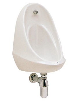 Camden 500 x 350 x 330mm Single Urinal Bowl - VC7003WH