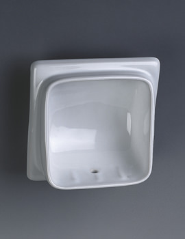 Built-In Semi Recessed Soap Dish - VC9808WH
