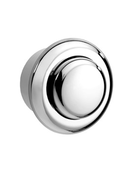 Single Flush Small Air Button Chrome - CF9001CP