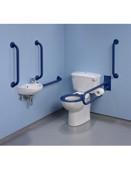Doc.M Standard Value Pack With Blue Grab Rails And Seat