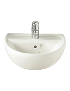 Sola 1 Tap Hole Washbasin 500 x 400mm - SA4211WH
