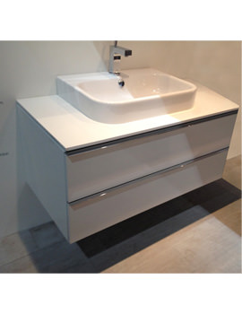 Related Duravit Happy D2 800x548mm Vanity Unit With Console And Basin