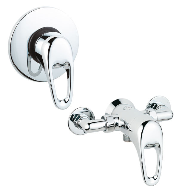 Large Image of Deva Lace Exposed Or Concealed Manual Shower Valve - LACVMANM03