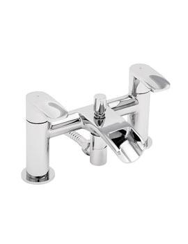 Tre Mercati Ora Deck Mounted Bath Shower Mixer Tap With Kit - 1650