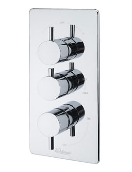 Poppy Concealed 3 Way Diverter Valve And Slide Rail Kit