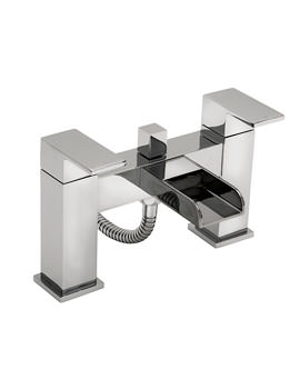 Tre Mercati Geysir Bath Shower Mixer Tap With Kit - 1806