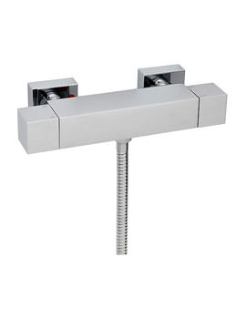Turn Me On Exposed Thermostatic Valve With Slide Rail Kit