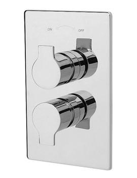 Ora Concealed Thermostatic Shower Valve Chrome - 22191