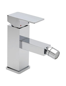 Edge Mono Bidet Mixer Tap With Pop Up Waste Chrome - 22380