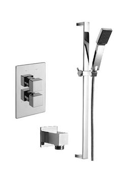 Tre Mercati Edge Concealed Shower Valve With Kit And Wall Outlet