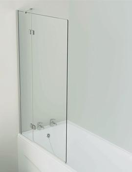 Inspirational 2 Panel Outward Opening Bath Screen