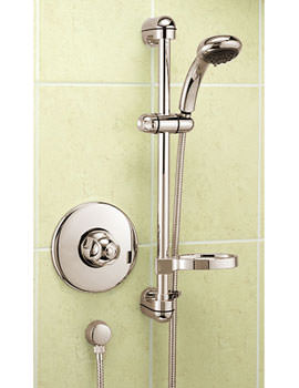 Tre Mercati Marina Concealed Thermostatic Shower Valve With Kit - Gold