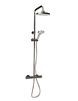 Image of Tre Mercati Round Exposed Thermostatic Shower Valve With Shower Set