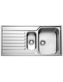 Image of Franke Ascona ASX 651 Stainless Steel 1.5 Bowl Kitchen Inset Sink
