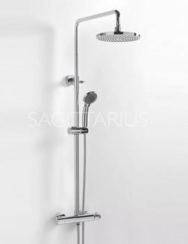Related Sagittarius Aurora Deluxe Exposed Shower Valve And Rigid Riser Kit