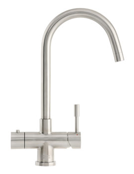Image of Franke Minerva Helix 3-In-1 Kettle Tap Stainless Steel - 119.0273.069