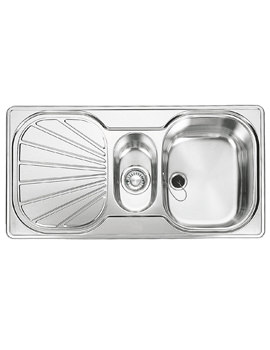 Related Franke Erica EUX 651 Stainless Steel 1.5 Bowl Kitchen Inset Sink