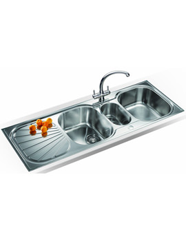 Related Franke Erica Propack EUX 671 Stainless Steel Kitchen Sink And Tap