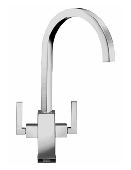 Image of Franke Planar Kitchen Sink Mixer Tap Chrome - 115.0049.999