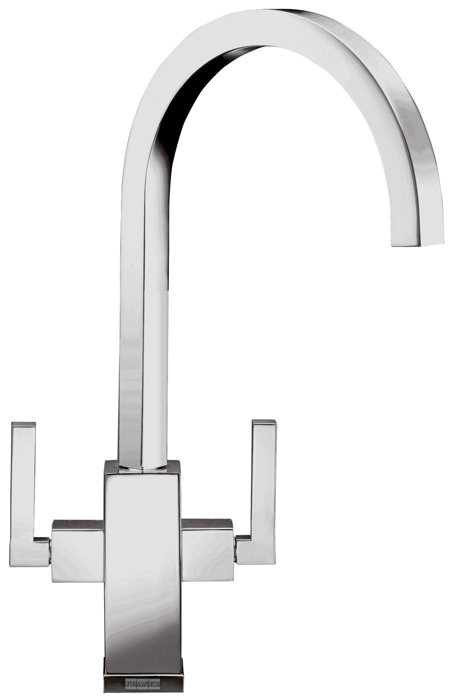 Large Image of Franke Planar Kitchen Sink Mixer Tap Chrome - 115.0049.999