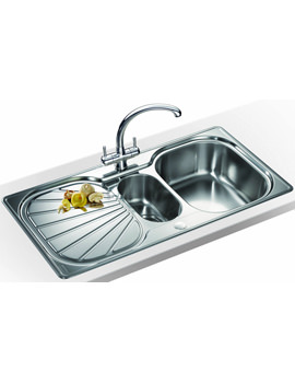 Related Franke Erica Propack EUX 651 Stainless Steel Kitchen Sink And Tap