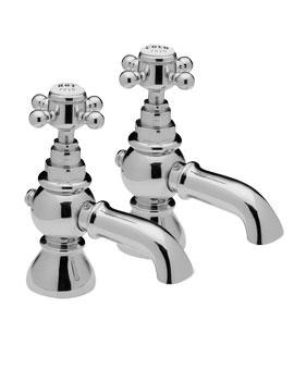 Sorrento Pair Of Bath Tap Chrome - 96020