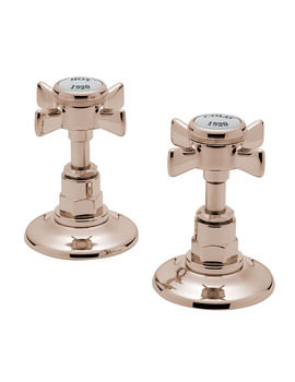 Imperial 1-2 Inch Pair Of Side Valve Gold - 1090A