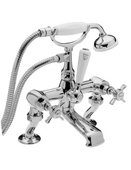 Imperial Bath Shower Mixer Tap With Kit Chrome - 1075