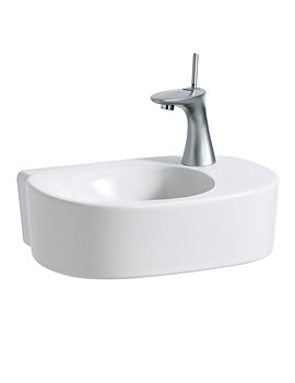 Mimo 450 x 320mm Small Washbasin With No Tap Hole