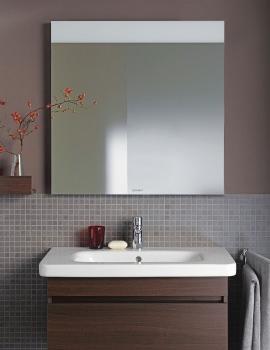 Duravit DuraStyle 800mm Mirror With Lighting - DS726800000