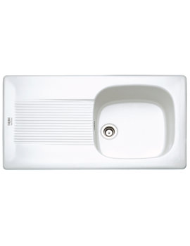 Franke VBK VBK 611 1.0 Bowl White Ceramic Inset Kitchen Sink
