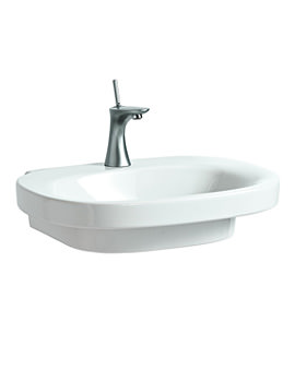 Related Laufen Mimo 600 x 440mm Washbasin Without Tap Hole