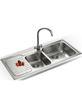 Related Franke Galassia Designer Pack GAX 621 Stainless Steel Sink And Tap