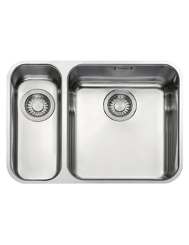 Related Franke Largo LAX 160 36-16 Stainless Steel 1.5 Bowl Undermount Sink