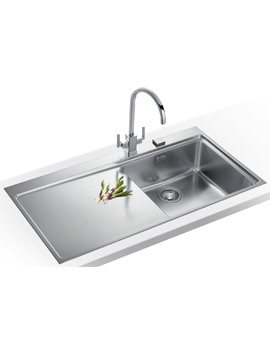 Image of Franke Mythos Slim-Top DP MMX 211 Stainless Steel Kitchen Sink And Tap