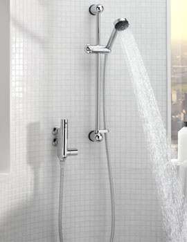 Vertical Thermostatic Shower Valve With Rainbow No 2 Kit