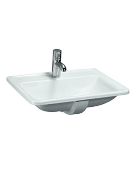Pro A 560 x 440mm Drop In Basin With 1 Tap Hole