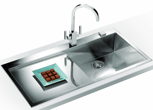 ... Franke Planar Slim-Top DP PPX 211 Stainless Steel Kitchen Sink And Tap
