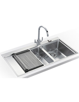 Related Franke Mythos Slim-Top DP MMX 251 Stainless Steel Kitchen Sink And Tap