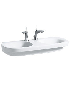 Related Laufen Mimo 1000 x 440mm Undersurface Ground Double Washbasin-0 TH