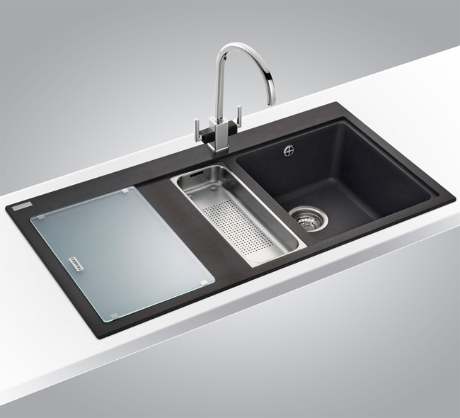 Franke mythos designer pack mtg 651 100 fragranite sink and tap - Vasca cucina fragranite ...